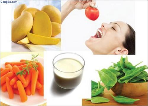 trị sẹo lõm từ trái cây